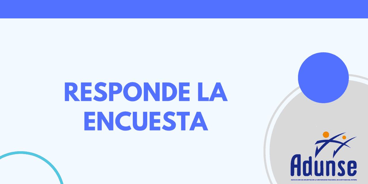 ENCUESTA SOBRE IMPACTO DE LA PANDEMIA COVID-19