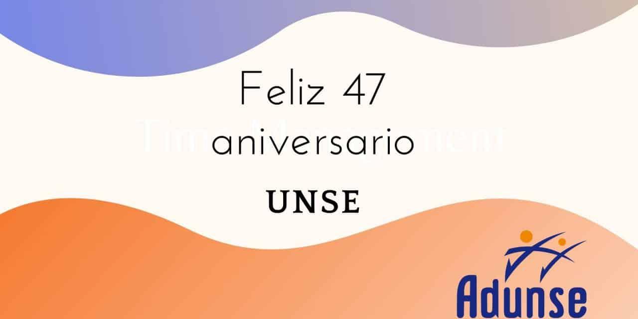 47º aniversario UNSE