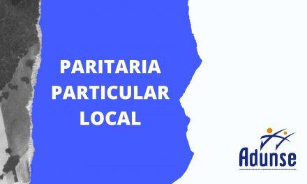 PARITARIA PARTICULAR LOCAL