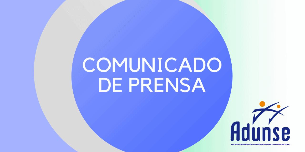ADUNSE PARO NACIONAL: 14 y 15 de Octubre con Desconexión Total