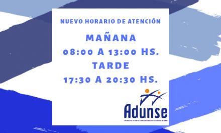 HORARIOS DE ATENCIÓN