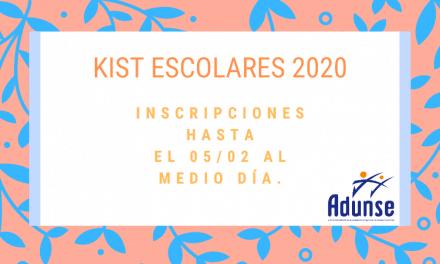 KITS ESCOLARES 2020