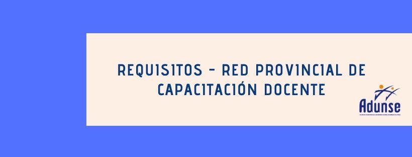 RED DE CAPACITACIÓN