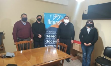 REUNIÓN CON DECANO DE LA FACULTAD DE CIENCIAS EXACTAS Y TECNOLOGÍAS