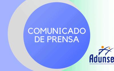 COMUNICADO: Comisión de Derechos Humanos de ADUNSE