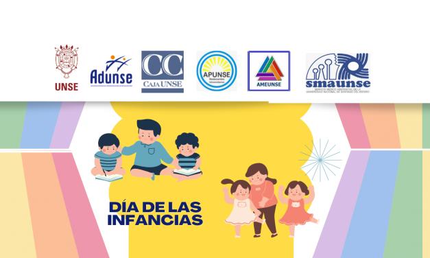 La UNSE y las instituciones que la conforman presentes en el mes de las infancias